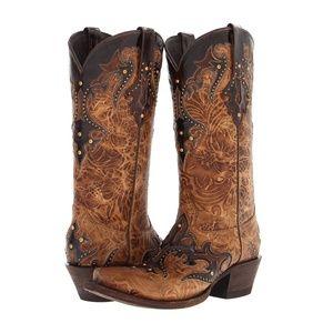 *NEW* Western Boots w/ Swarovski Crystals
